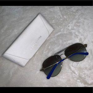 Michael Kors Womens Aviator Sunglasses